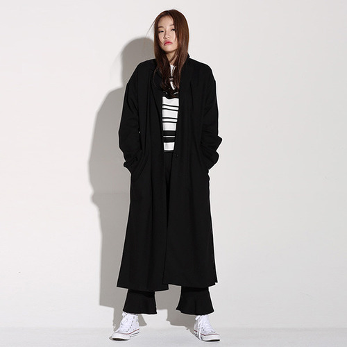 MG6F SLIT LONG COAT