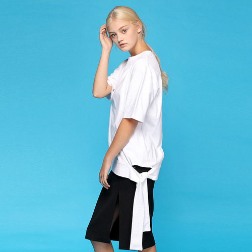 [리퍼브]MG7S STRAP WRAPPING TEE (white)