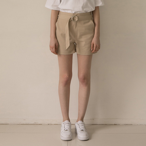 MG7S CIRCLE POINT SHORTS (beige)