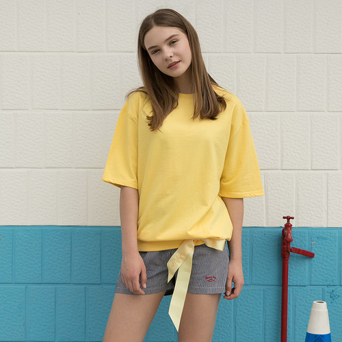 MG7S EYELET STRAP TEE (yellow)