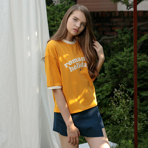 MG7S ROMANTIC TEE (yellow)