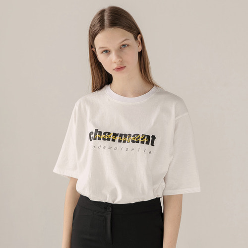[리퍼브]MG8S CHARMANT TEE (WHITE)