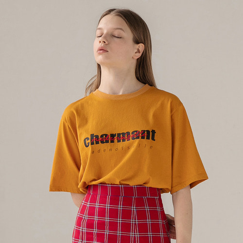 [리퍼브]MG8S CHARMANT TEE (YELLOW)