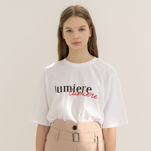 MG8S LUMIERE TEE (WHITE)