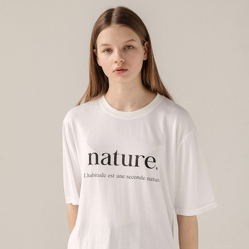 [리퍼브]MG8S NATURE TEE (WHITE)