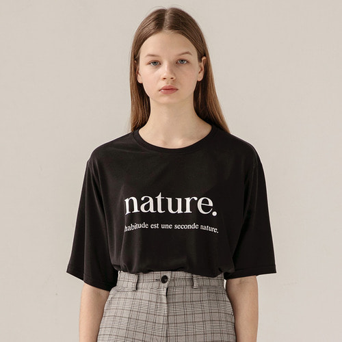 [리퍼브]MG8S NATURE TEE (BLACK)