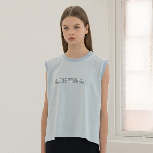[리퍼브]MG8S LIBERA SLEEVELESS (LIGHT BLUE)