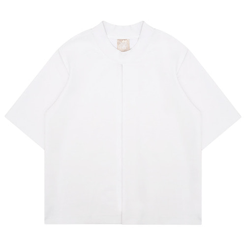 MG6S CLIP TEE (WHITE)
