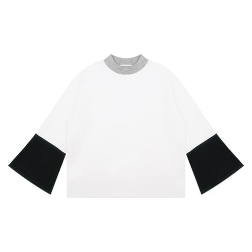 MG6S COLOR FLARE TEE (WHITE)