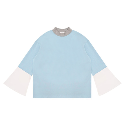 MG6S COLOR FLARE TEE (LIGHT BLUE)