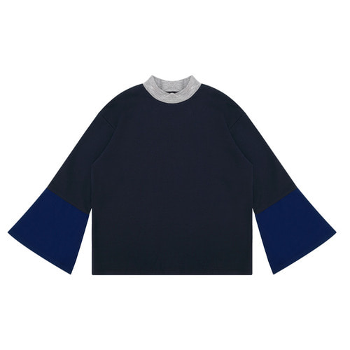 MG6S COLOR FLARE TEE (NAVY)