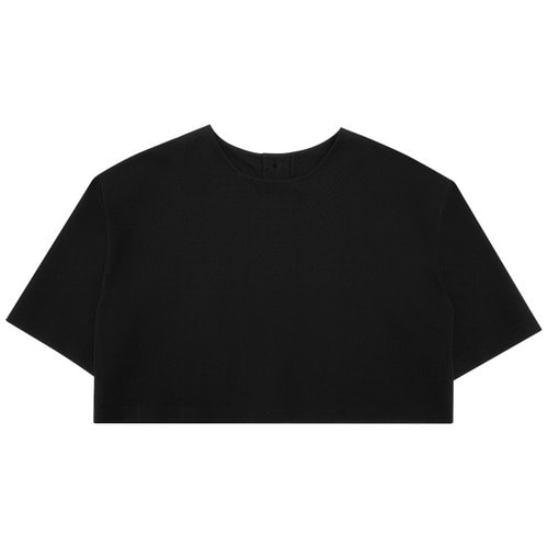 MG6S HIGH CROP TEE (BLACK)