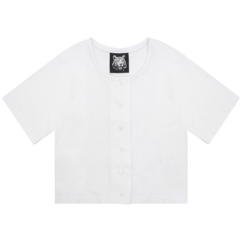MG6S SELL CROP TEE (WHITE)