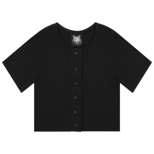 MG6S SELL CROP TEE (BLACK)