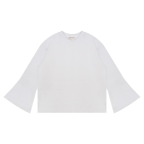 MG6S WIDE SLEEVE TEE (WHITE)
