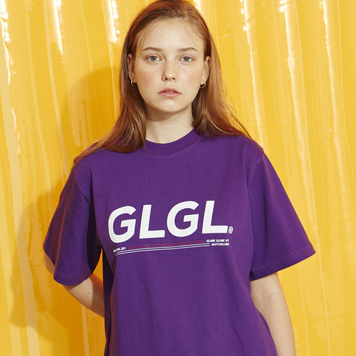 MG8S LINE GL TEE (PURPLE)