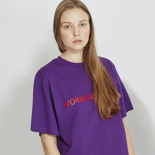 [리퍼브]MG8S WORKROOM TEE (PURPLE)
