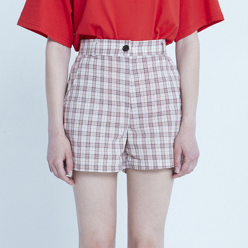 MG8S LINE CHECK SHORTS (RED)