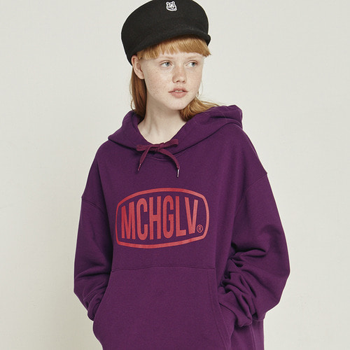 MG8F MCHGLV HOOD (PURPLE)