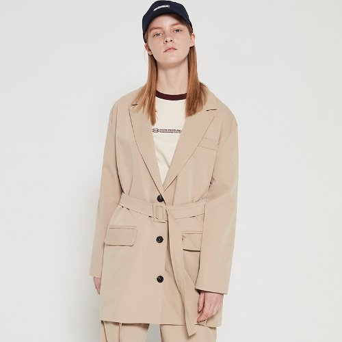 MG9S BELT JACKET (BEIGE)