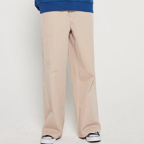 MG9S BASIC WIDE PANTS (BEIGE)