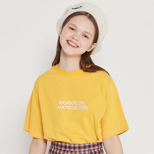 [리퍼브]MG9S BOX COLORFUL TEE (YELLOW)