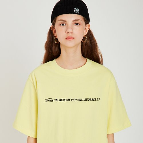 MG9S GLOBER BOX TEE (LIGHT YELLOW)
