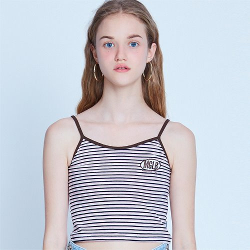 MG9S STRIPE MG SLEEVELESS (LIGHT PINK)