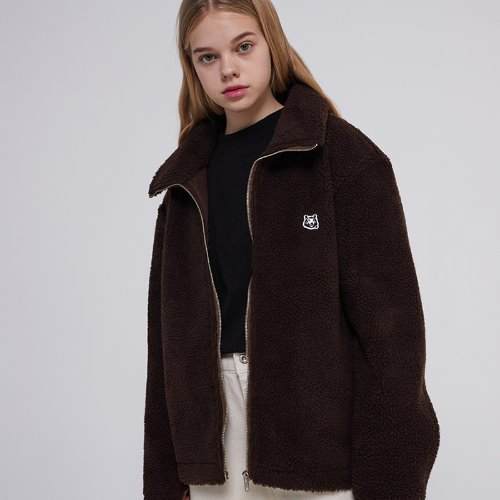 MG9F DUMBLE BASIC JACKET (BROWN)