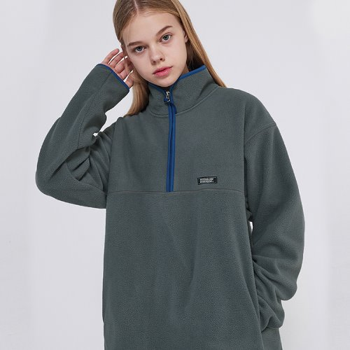 MG9F FLEECE ZIPUP MTM (GRAY)