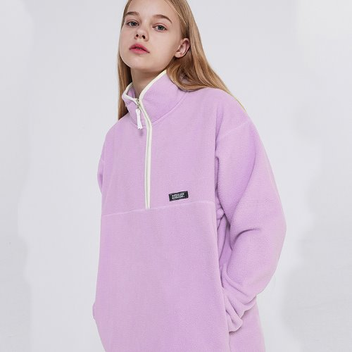 MG9F FLEECE ZIPUP MTM (LIGHT PURPLE)