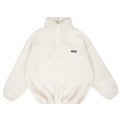 MG9F FLEECE ANORAK MTM (IVORY)