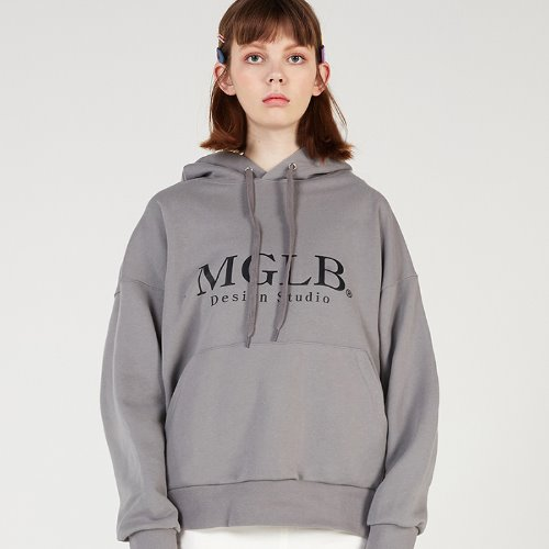 MG0S NATURE BIG LOGO HOOD (GRAY)