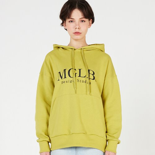 MG0S NATURE BIG LOGO HOOD (GREEN)