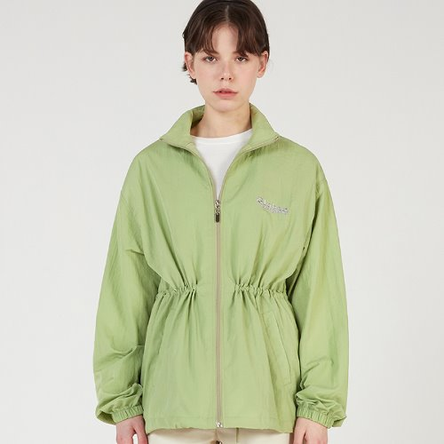 MG0S OVERSIZE STRING NYLON JUMPER (GREEN)