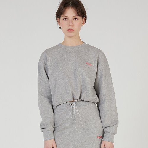 MG0S MGLB CROP MTM (MELANGE GRAY)