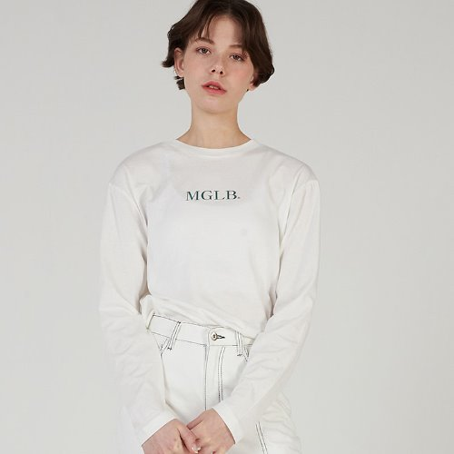 MG0S BASIC PASTEL COLOR TEE (WHITE)