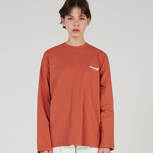 MG0S LOGO BOX TEE (ORANGE)