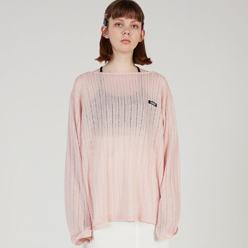 MG0S SPRING MESH KNIT (PINK)