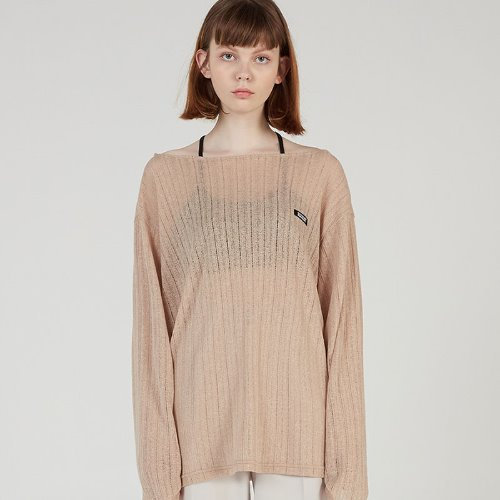 MG0S SPRING MESH KNIT (BEIGE)