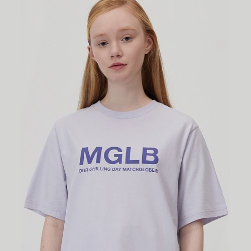 MG0S PASTEL LOGO TEE (LIGHT PURPLE)