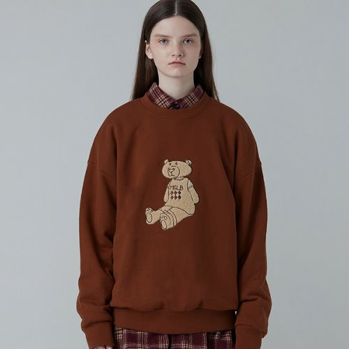 MG0F EMBROIDERY MGLB BEAR MTM (BROWN)