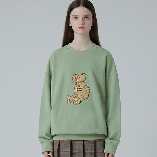 MG0F EMBROIDERY MGLB BEAR MTM (GREEN)