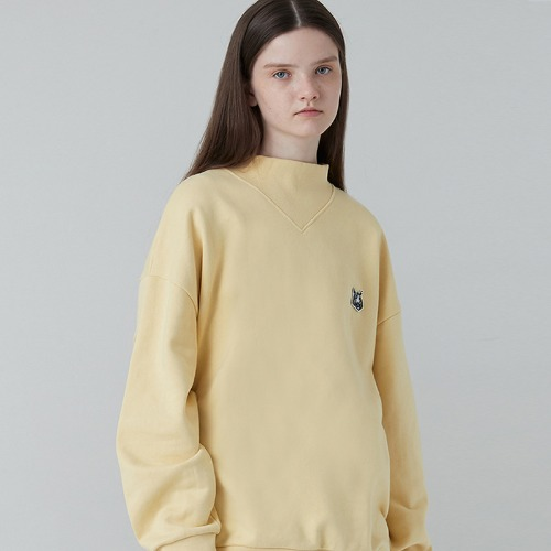MG0F V-HALFNECK MTM (LIGHT YELLOW)