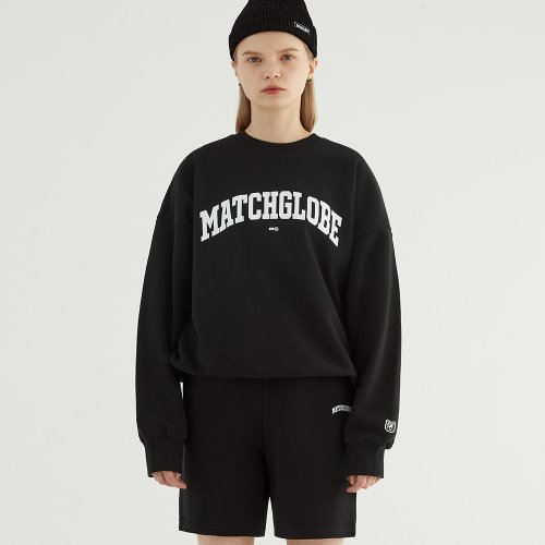 UNIVERSITY ARCH LOGO SWEAT SETUP (BLACK)